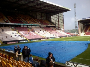 "Bradford City game at ""Valley Parade"""