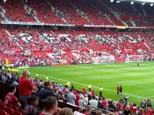 The famous Stretford End