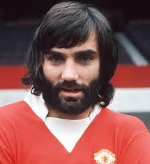 Georgie Best! Sports a handsome beard back in his day.