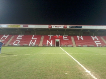 Cheltenham Town Home Ground