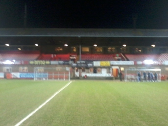 The stadium also hosts Gloucester City (our opponents) for this season