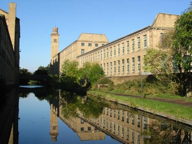 Salts Mill near Shipley