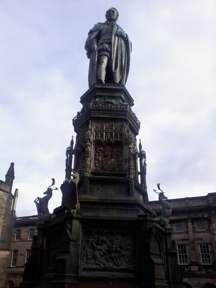 Sir Walter Scott - they love this guy here!