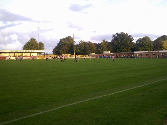 Hungerford Town ground - Bulpit Lane